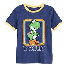 Boys 4-12 SONOMA Goods for Life™ Yoshi Retro Ringer Graphic Tee