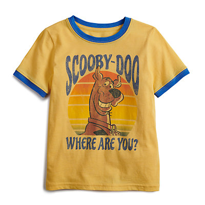 """Boys 4-12 SONOMA Goods for Life? Scooby-Doo """"Where Are You?"""" Retro Graphic Tee"""