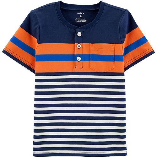 Baby Boy Carter's Tri-Color Henley