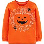 Baby Boy Carter's Halloween Jack-O-Lantern Jersey Tee