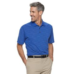 Men's Haggar Cool 18® Pro Regular-Fit Jacquard Performance Polo