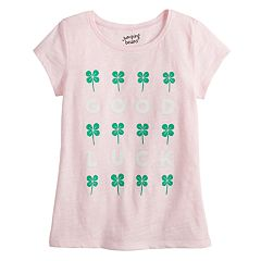 Girls 4-12 Jumping Beans® St. Patrick's Day Graphic Tee