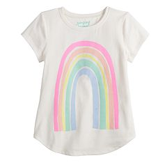 Girls 4-12 Jumping Beans® Rainbow Graphic Tee