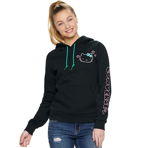 762a00945587 Juniors  Converse Hello Kitty® Pullover Hoodie