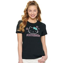 34f3c36950a2 Juniors  Converse Hello Kitty® Graphic Tee