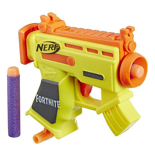 Nerf Fortnite Micro Ar L Blaster With 2 Official Nerf Elite Darts