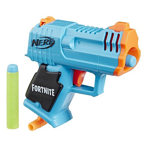 Nerf Fortnite Micro HC-R Blaster with 2 Official Nerf Elite Darts
