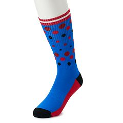 Men's HS by Happy Socks Patterned Athletic Crew Socks