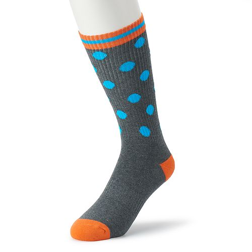 Men's HS by Happy Socks Patterned Athletic Crew Socks