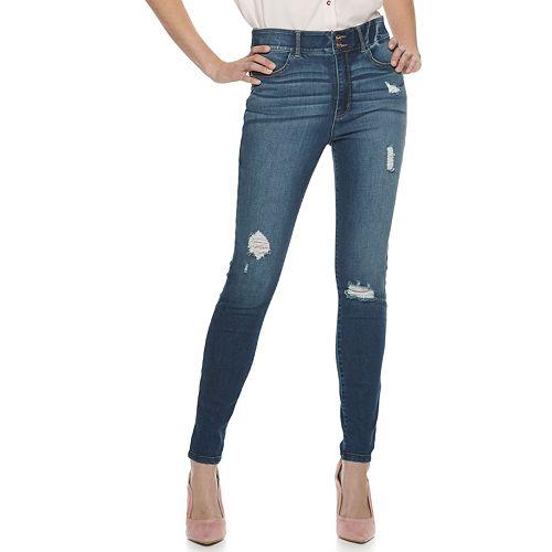 Juniors' Candie's® High-Rise Sculpt Skinny Jeans