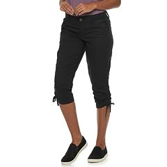 Women's SONOMA Goods for Life™ Ruched Midrise Capris