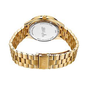 Women's JBW Mondrian Diamond Accent & Crystal Stainless Steel Watch & Bracelet Set