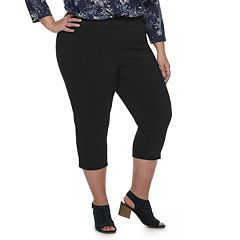Plus Size EVRI Pull-On Capris