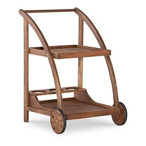 Linon Catalan Indoor / Outdoor Trolley Patio Drink Cart