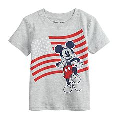 Disney's Mickey Mouse Toddler Boy Patriotic Flag Graphic Tee by Jumping Beans®