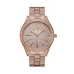 Women's JBW Cristal Diamond Accent & Crystal Stainless Steel Watch