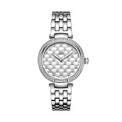 Women's JBW Gala Diamond Accent & Crystal Stainless Steel Watch