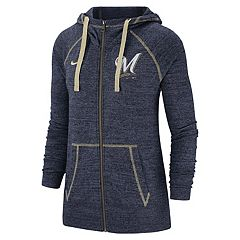 aa9d26aaf4b8a Women s Nike Milwaukee Brewers Full Zip Fleece. sale