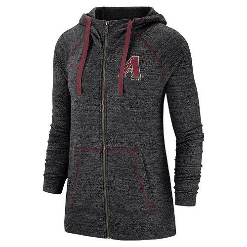 Women's Nike Arizona Diamondbacks Full Zip Fleece