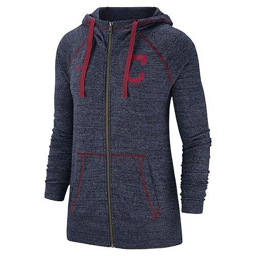Women's Nike Cleveland Indians Full Zip Fleece