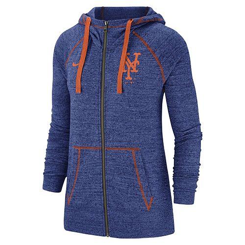 Women's Nike New York Mets Full Zip Fleece