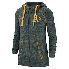 Women's Nike Oakland Athletics Full Zip Fleece