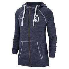 f84df04664 Women s Nike San Diego Padres Full Zip Fleece