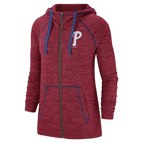 Women's Nike Philadelphia Phillies Full Zip Fleece