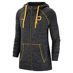 Women's Nike Pittsburgh Pirates Full Zip Fleece
