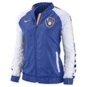 Women's Nike Milwaukee Brewers Varsity Jacket