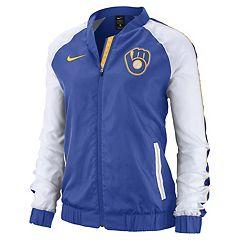 Women's Nike Milwaukee Brewers Varsity Jacket