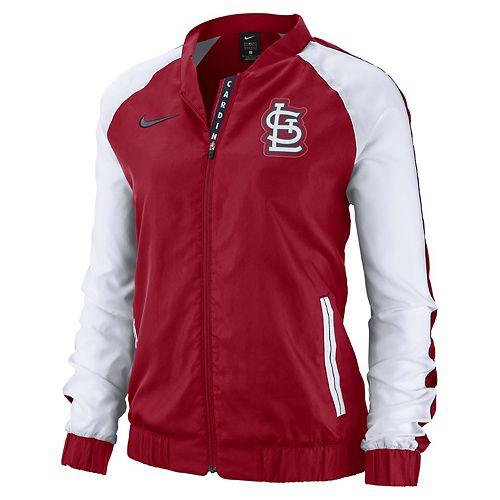 pretty nice d9b37 63e29 Women's Nike St. Louis Cardinals Varsity Jacket