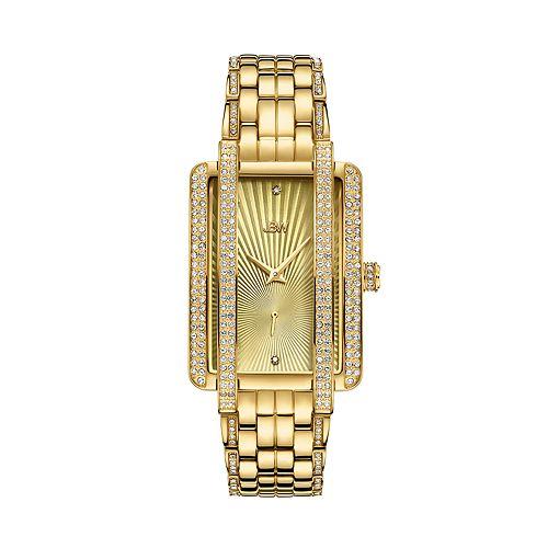 Women's JBW Mink Diamond Accent & Crystal Stainless Steel Watch