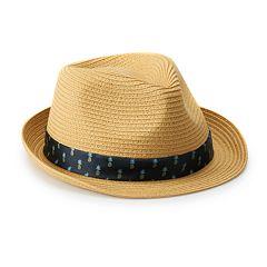 3a0b93086 Men's Fedora Hats   Kohl's