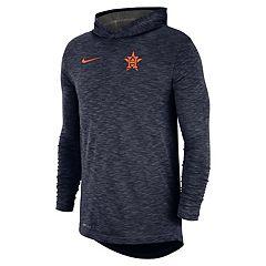 Nike Men's Houston Astros Dri-FIT Slubbed Logo Hoodie