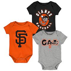 Baby Boy San Francisco Giants Everyday Fan Bodysuit 3-Pack