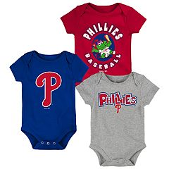 Baby Boy Philadelphia Phillies Everyday Fan Bodysuit 3-Pack
