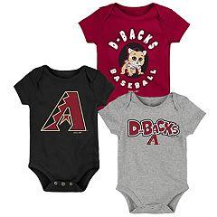 Baby Boy Arizona Diamondbacks Everyday Fan Bodysuit 3-Pack