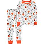 Toddler Boy Carter's 2-Piece Pumpkins Snug Fit Cotton Pajama Set