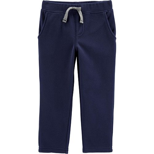 Toddler Boy Carter's Pull-On Fleece Pants