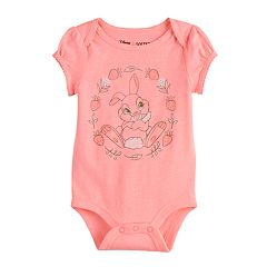 Disney's Bambi Thumper Baby Girl Graphic Bodysuit by Jumping Beans®