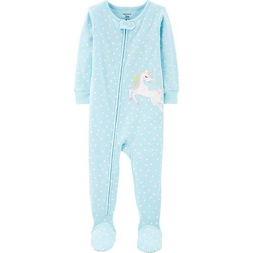 Toddler Girl Carter's 1-Piece Pegasus Snug Fit Cotton Footie PJs