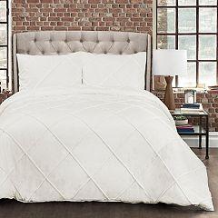 Lush Decor Diamond Pom Pom Comforter Set