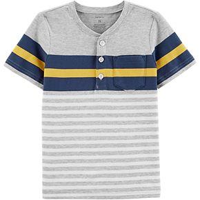 Toddler Boy Carter's Striped Jersey Tee
