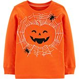 Toddler Boy Carter's Halloween Jack-O-Lantern Jersey Tee