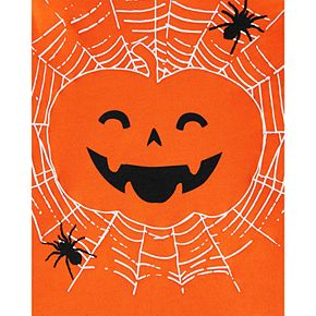 Toddler Boy Carter's Halloween Jack-O-Lantern Jersey Tee
