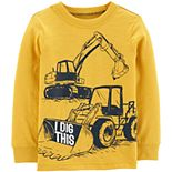 Toddler Boy Carter's Construction Truck Jersey Tee