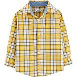 Toddler Boy Carter's Long-Sleeve Button-Down