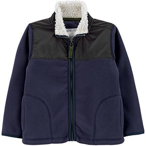 Toddler Boy Carter's Zip-Up Fleece Jacket