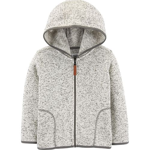 Toddler Boy Carter's Zip-Up Sherpa Hoodie